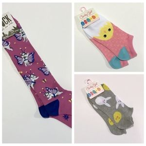 3 Whimsical Socks Collection